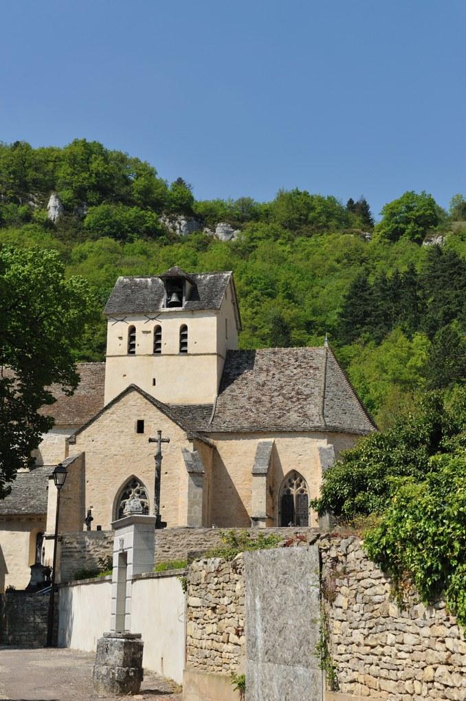 Santenay - Eglise saint-Jean-de-Narosse à Saint-Jean-le-Haut (XIIIe et XVe siècle)