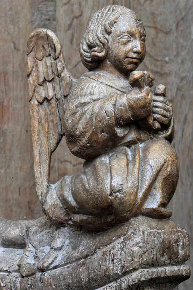 Saulieu - Basilique Saint-Andoche - Stalles (1388) - détail