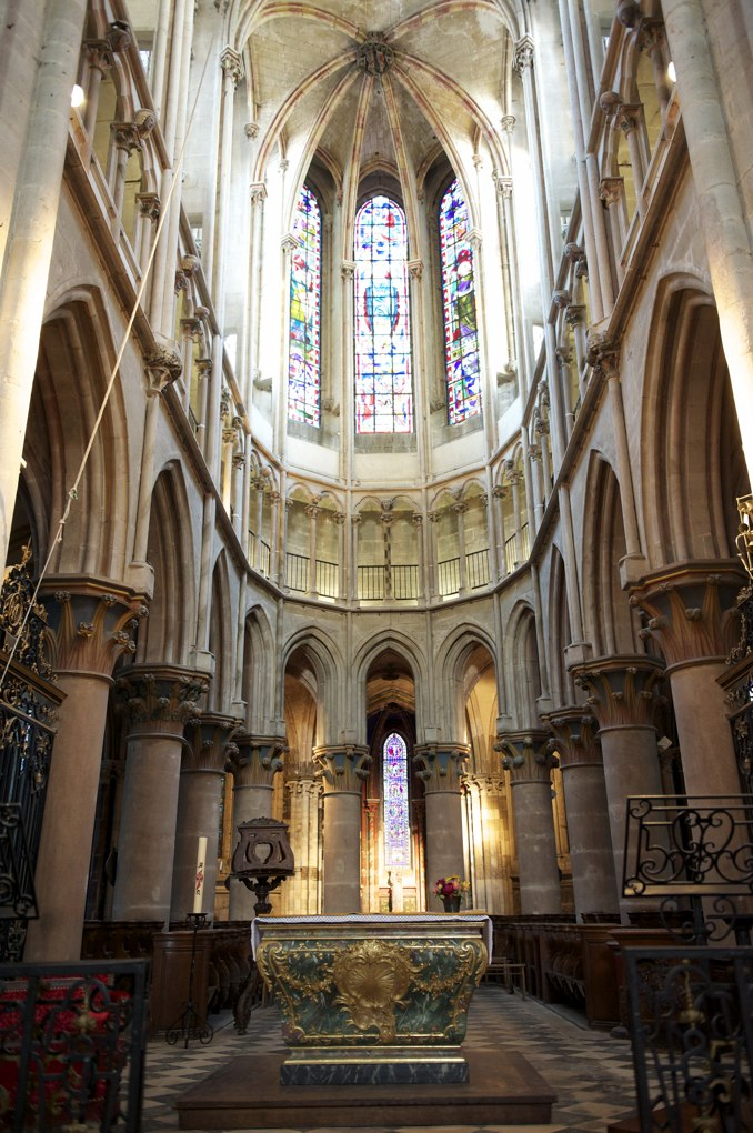 Semur-en-Auxois - Collégiale Notre-Dame (XIIIe siècle)
