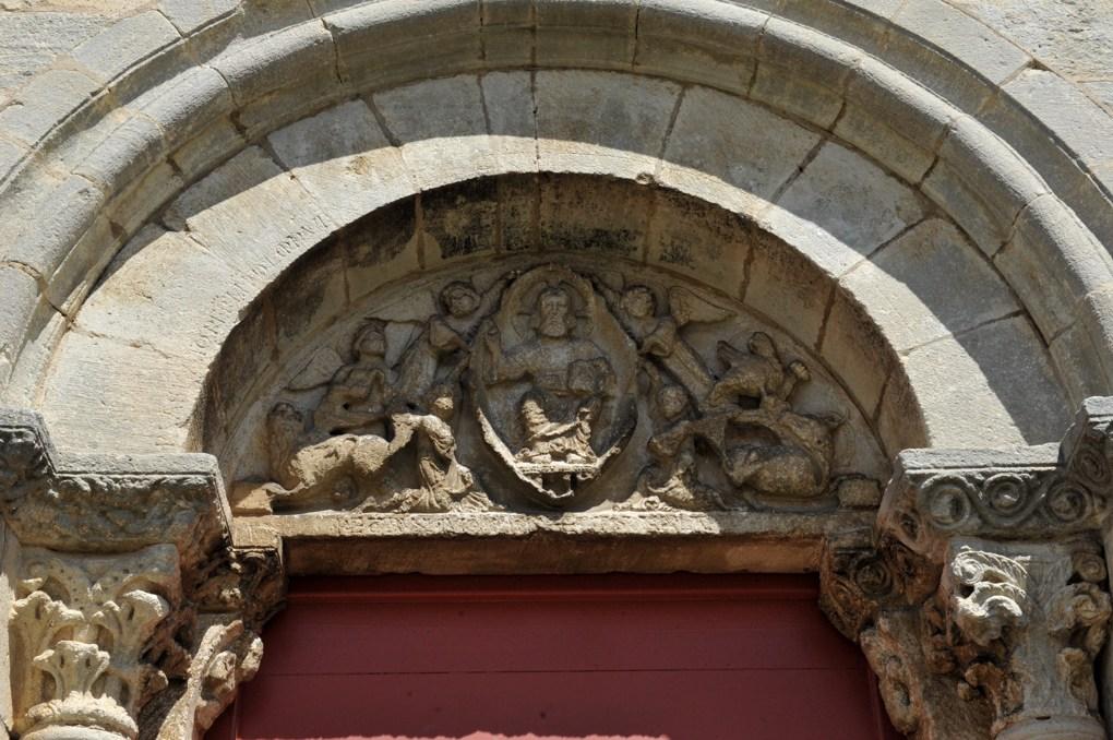 Til-Châtel - Eglise Saint-Florent (milieu XIIe siècle) - Portail sud