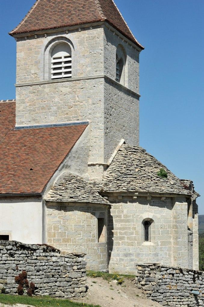Reulle-Vergy - Eglise Saint-Saturnin (XIIe siècle