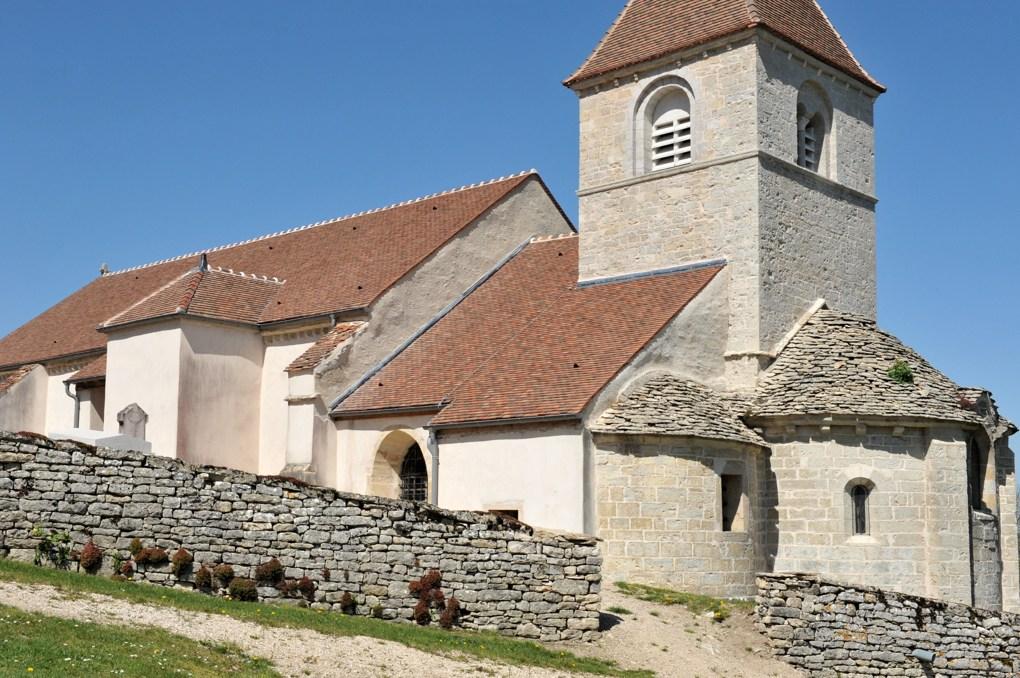 Reulle-Vergy - Eglise Saint-Saturnin (XIIe siècle)
