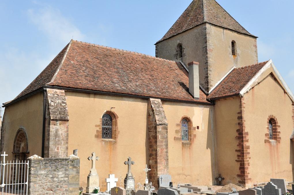 Vieux-Château - Eglise Saint-Laurent (XIIe siècle)