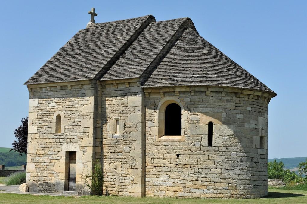 Salmaise - Chapelle castrale Saint-Marc (2e moitié du XIIe siècle)