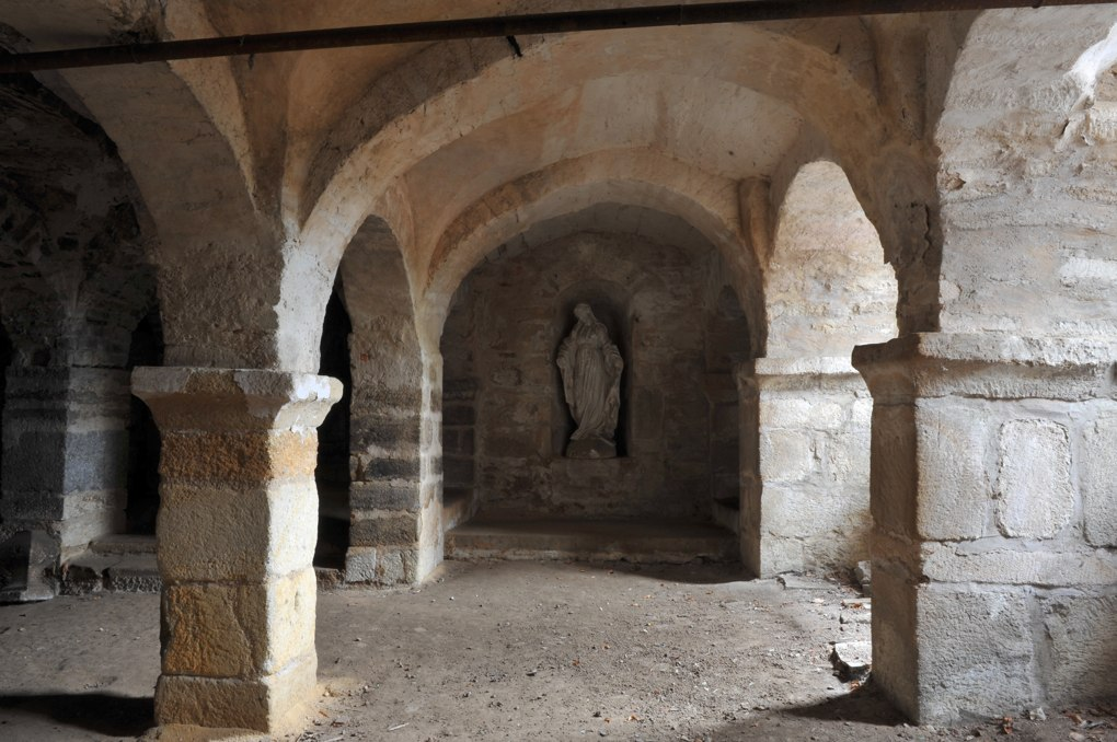 Autun - Crypte de Saint-Andoche (fin IXe ou Xe siècle)