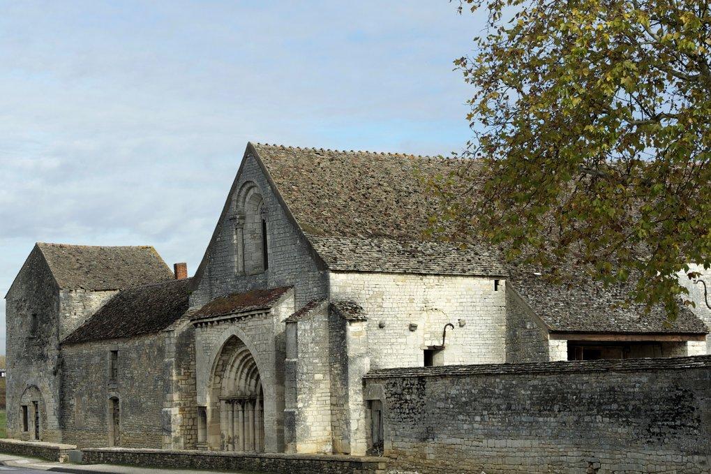 Meursault - Ancienne léproserie ou maladrerie (fin XIIe-début XIIIe siècle) située à l'Hôpital-de-Meursault