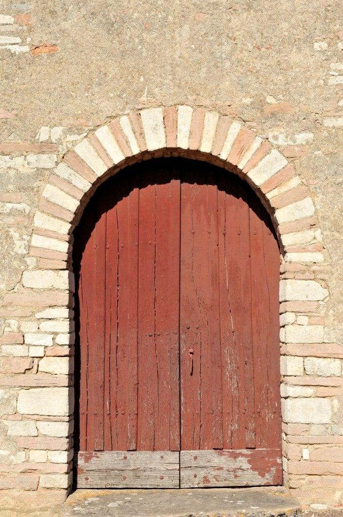Mellecey - Eglise Saint-Pierre - Portail de la façade