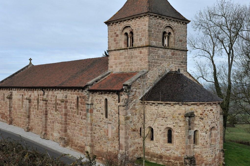 Sanvignes-les-Mines - Eglise Saint-Symphorien