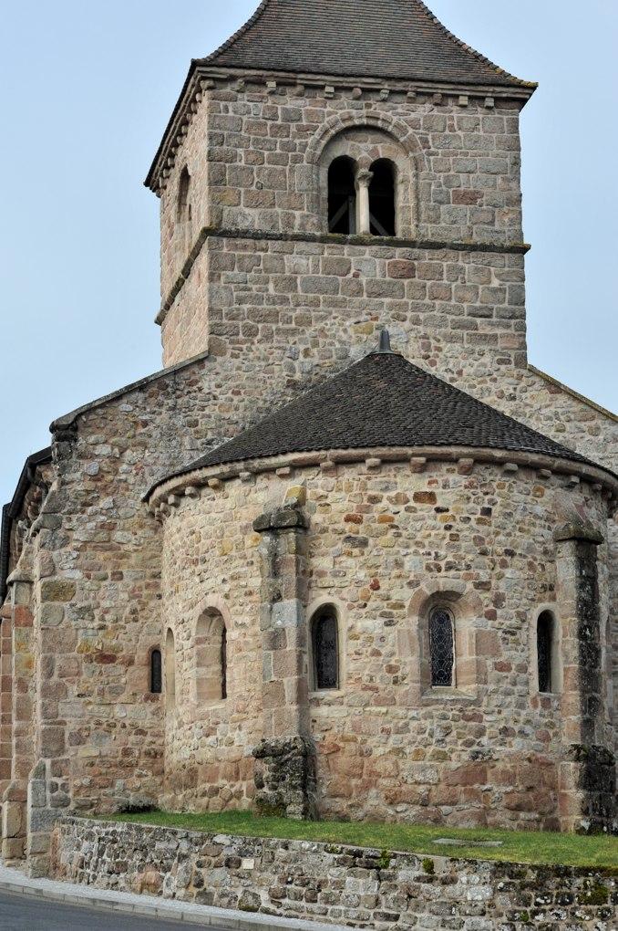 Sanvignes-les-Mines - Eglise Saint-Symphorien - Le chevet