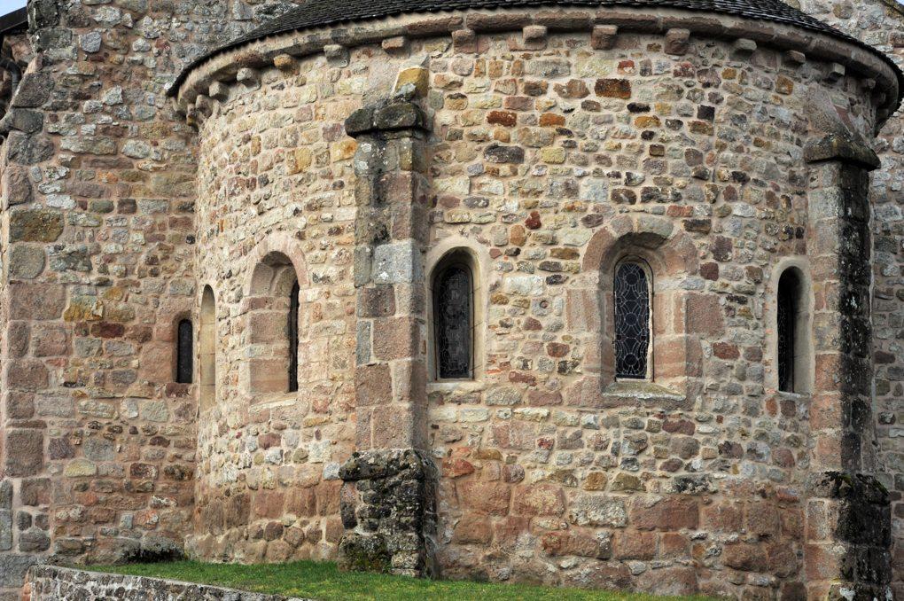 Sanvignes-les-Mines - Eglise Saint-Symphorien - L'abside