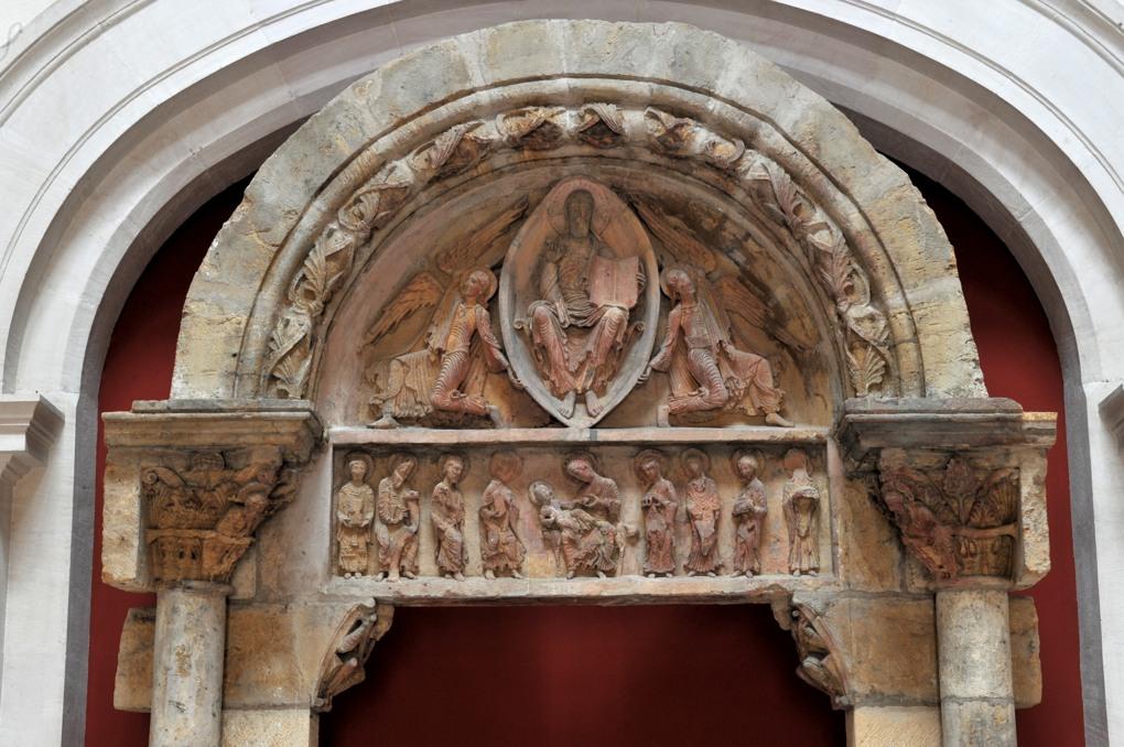 Paray-le-Monial (Musée du Hiéron) - Portail de l'ancien prieuré d'Anzy-le-Duc