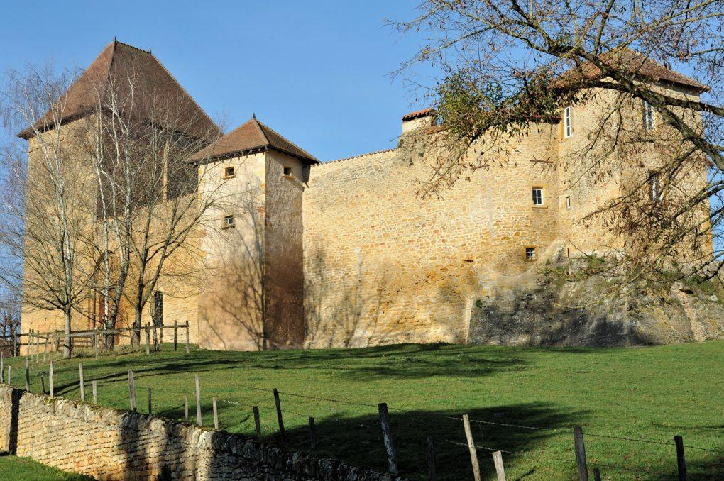 Anzy-le-Duc - Bâtiments du prieuré