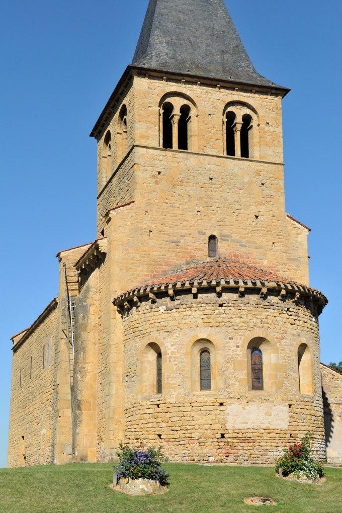 Baugy - Eglise Saint-Pons (v. 1130)