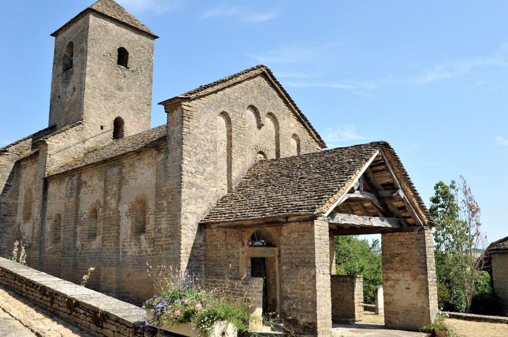 Bissy-sur-Fley - Eglise de la Nativité de la Vierge (XIe-XIIe siècle)