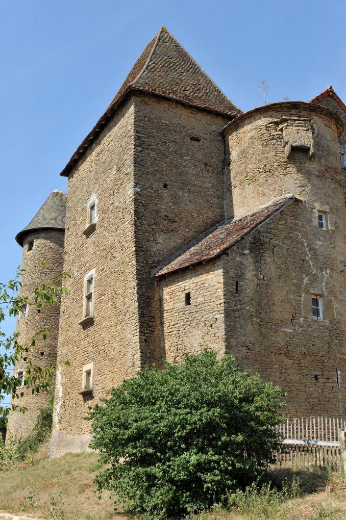 Bissy-sur-Fley - Château Pontus de Tyard (XVe siècle)