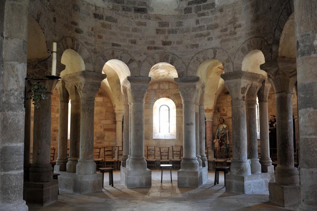 Bois-Sainte-Marie - Eglise de la Nativité - Le rond-point (v. 1115)
