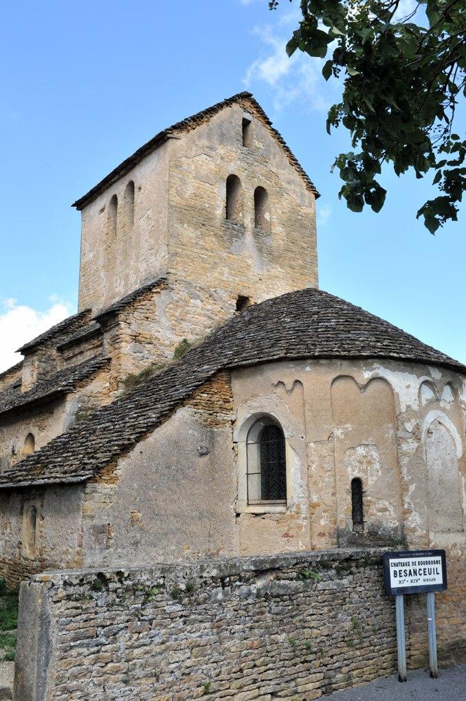 Bonnay - Eglise Saint-Pierre de Besanceuil (v. 1100)