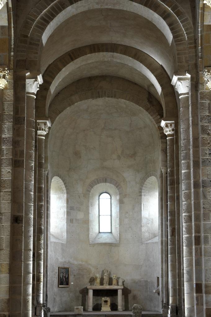 Bourbon-Lancy - Priorale Saint-Nazaire - Choeur et abside