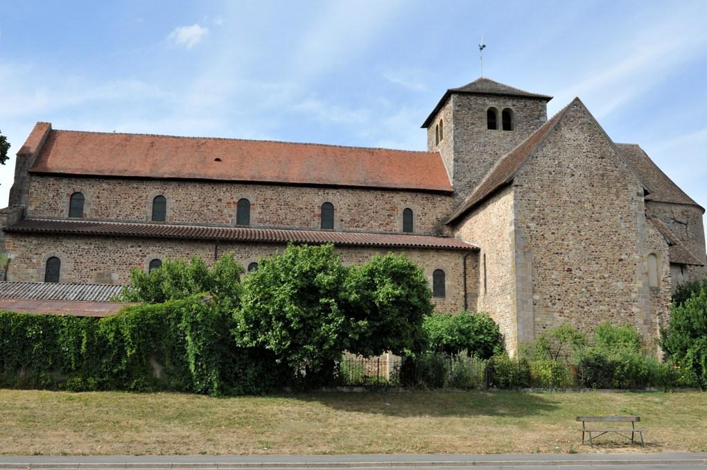 Bourbon-Lancy - Priorale Saint-Nazaire (2e moitié du XIe-début du XIIe siècle)