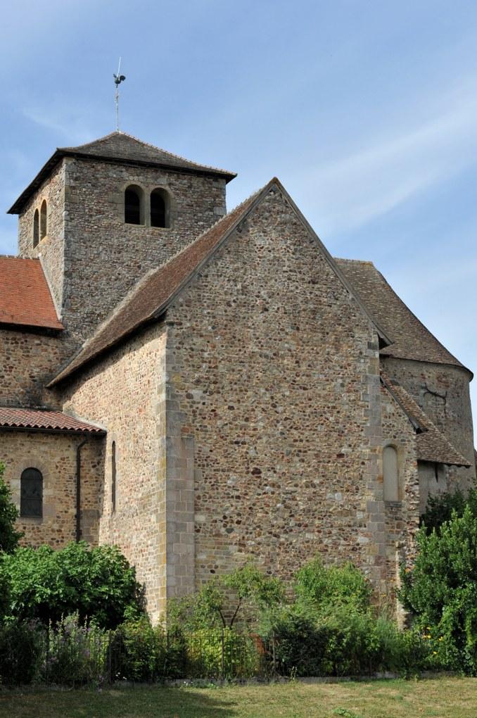 Bourbon-Lancy - Priorale Saint-Nazaire - Bras sud du transept