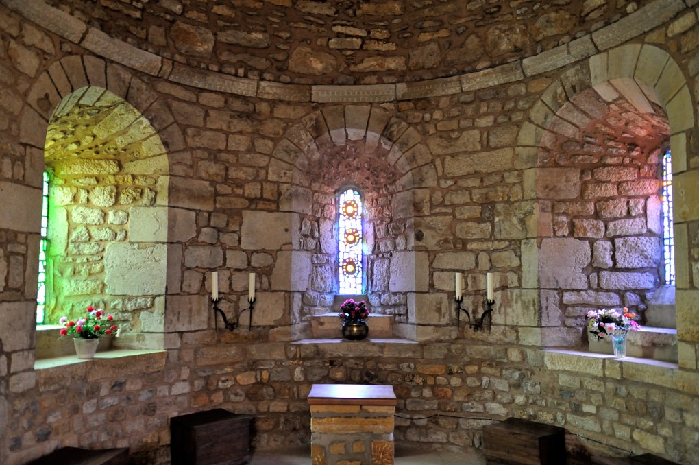 Briant - Eglise Saint-Nazaire-et-Saint-Celse (v. 1130) - L'abside