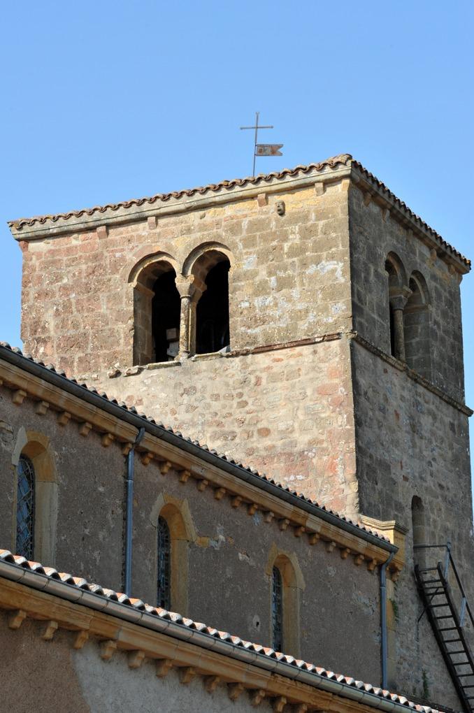 Briant - Eglise Saint-Nazaire-et-Saint-Celse (v. 1130) - Le clocher