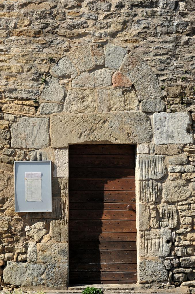 Chamilly - Eglise Saint-Pierre-et-Saint-Paul (XIIe siècle) - Portail latéral sud de la nef