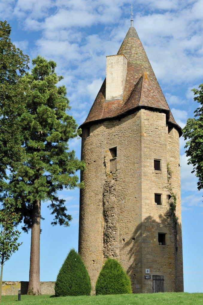 """Charolles - Château de Charolles - Tour dite """"de Charles le Téméraire"""""""