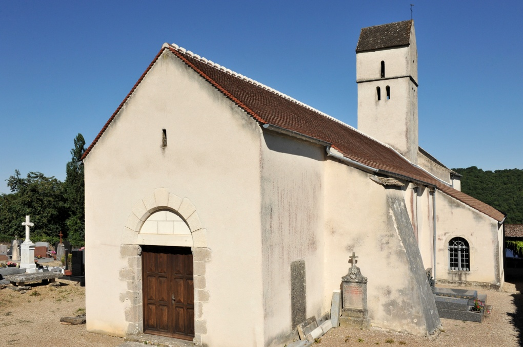 Chassey-le-Camp - Eglise Saint-Vincent (XIIe siècle)