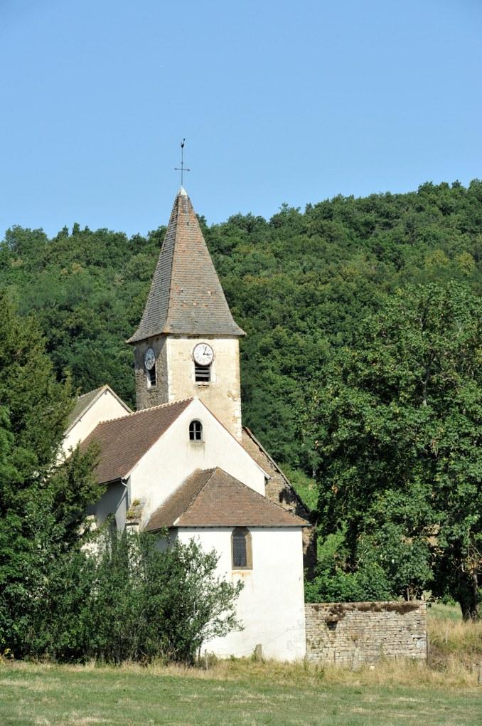 Chenôves - Eglise saint-Blaise (plusieurs époques) : maçonneries du XIe siècle