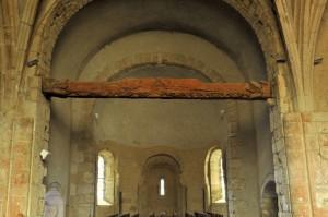 Couches (Saône-et-Loire) - Eglise de l'ancien prieuré Saint-Georges - L'abside (fin VIIIe et XIe siècle)