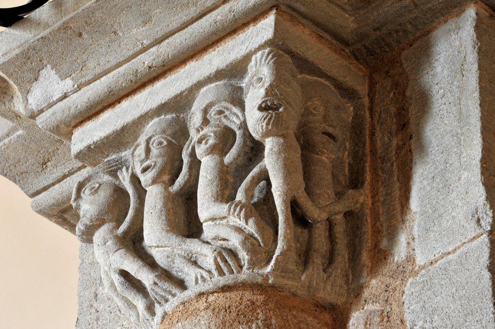 Curbigny - Eglise Saint-Pierre-aux-Liens - Même chapiteau