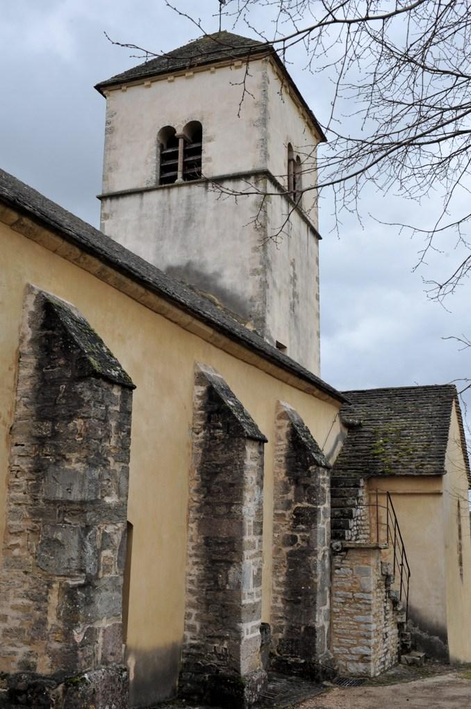 Curtil-sous-Burnand - Eglise saint-Pierre (XIIe siècle)