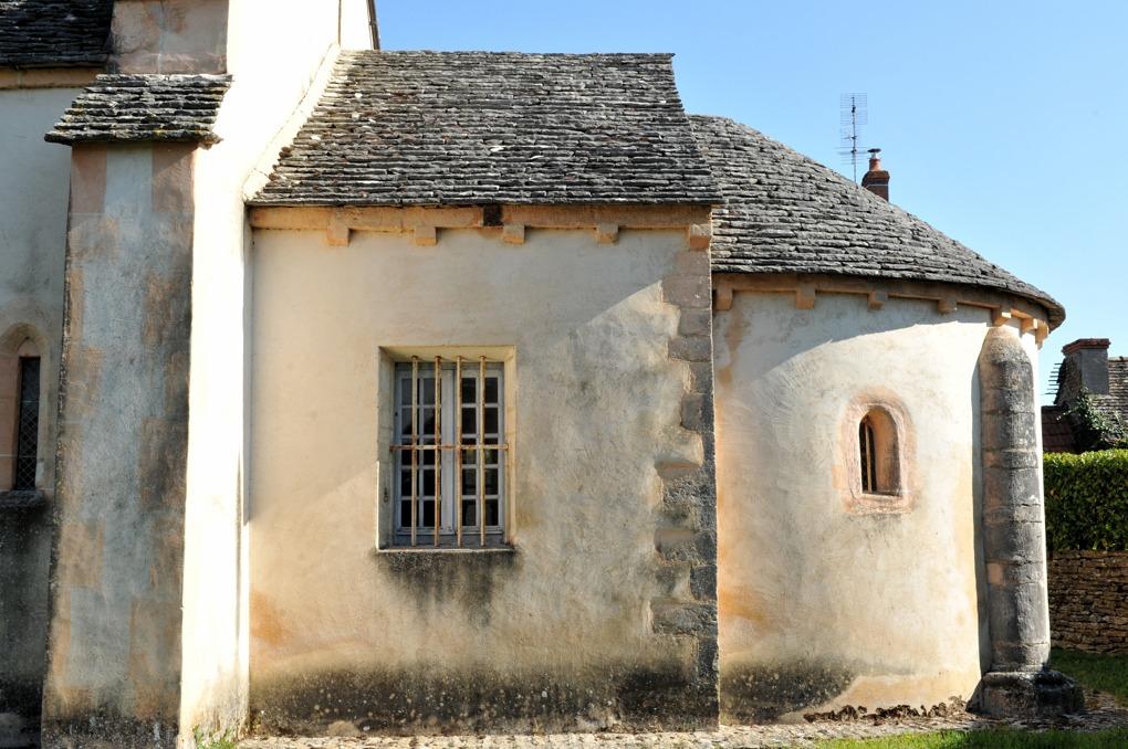 Granges - Eglise Saint-Martin-et-Saint-Eloi (XIIe siècle)