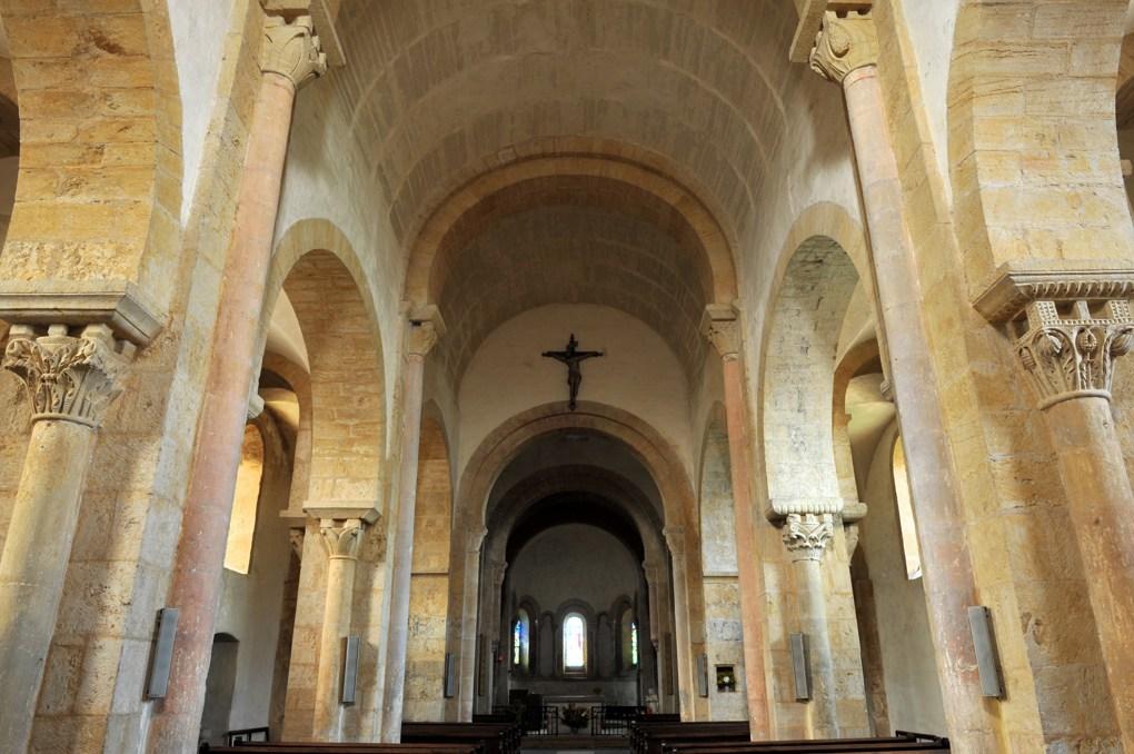 Iguerande - Ancienne priorale Saint-André (XIIe siècle) - Vue intérieure