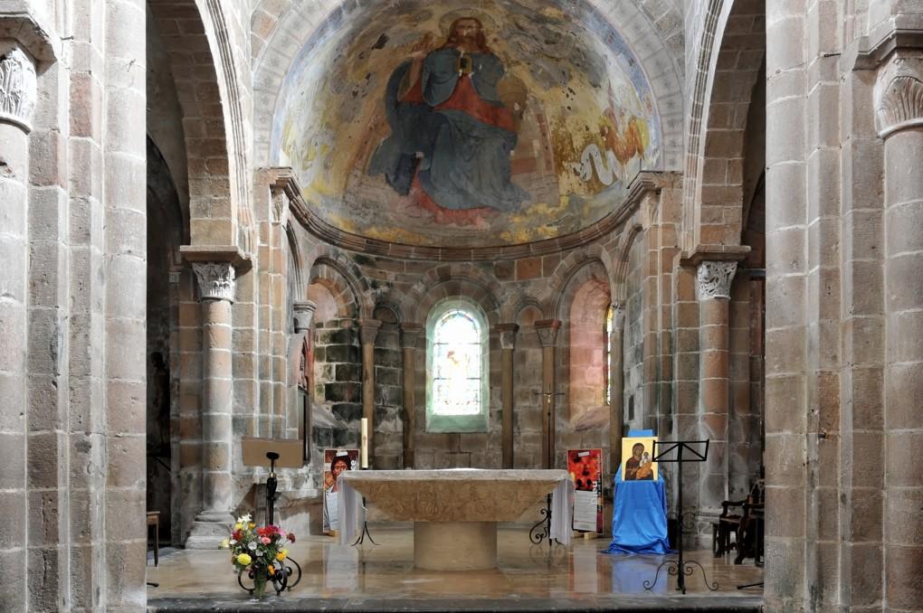 Issy-l'Evêque - Eglise Saint-Jacques le Majeur (XIIe siècle)