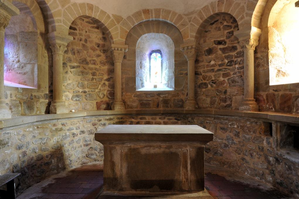 La Chapelle-sous-Dun - Eglise Notre-Dame-de-l'Assomption (XIIe siècle) - L'abside