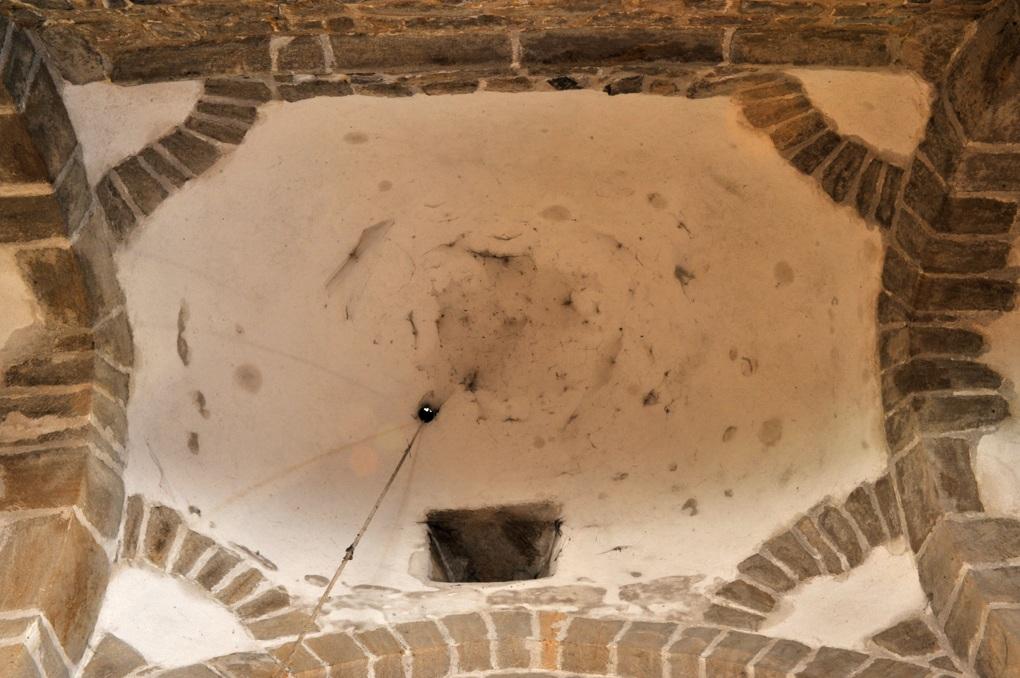 La Chapelle-sous-Dun - Eglise Notre-Dame-de-l'Assomption (XIIe siècle) - Coupole de la croisée