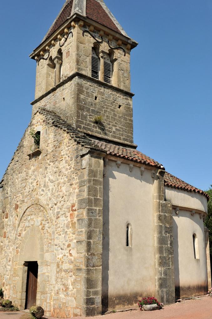 La Chapelle-sous-Dun - Eglise Notre-Dame-de-l'Assomption (XIIe siècle)