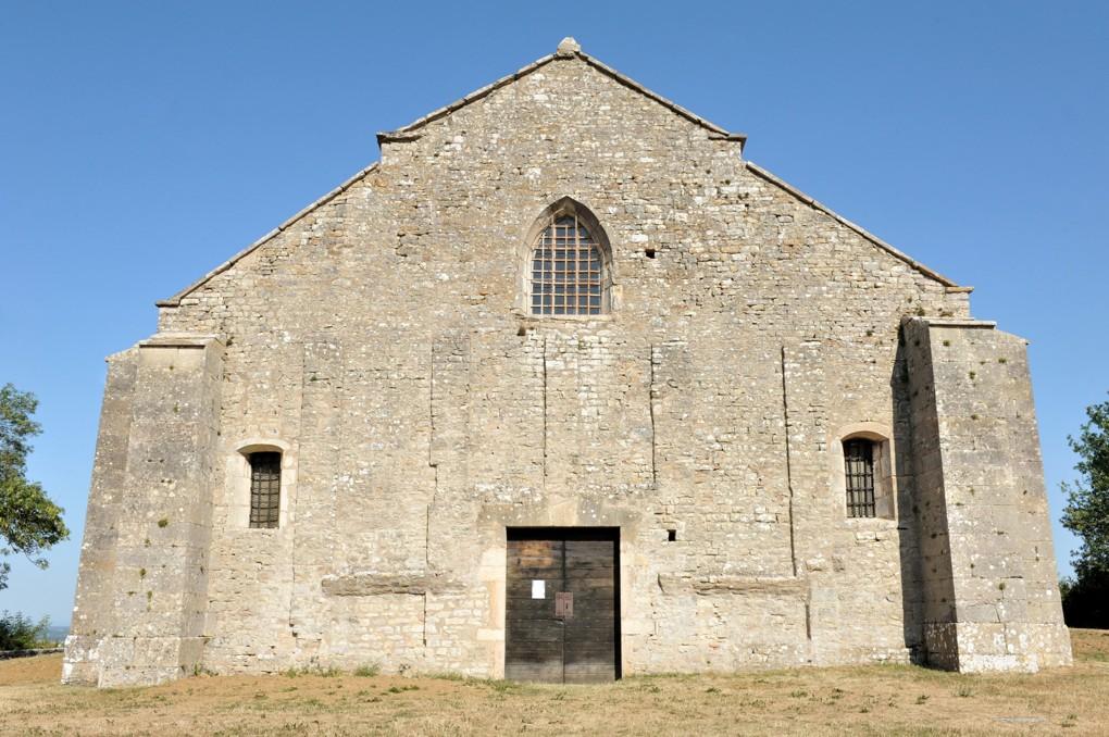 Laives - Eglise Saint-Martin - Façade romane remaniée à l'époque gothique