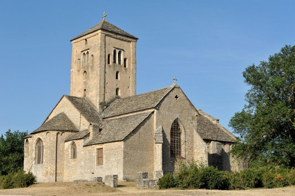Laives - Eglise Saint-Martin (XIe-XIIe siècle pour l'essentiel)