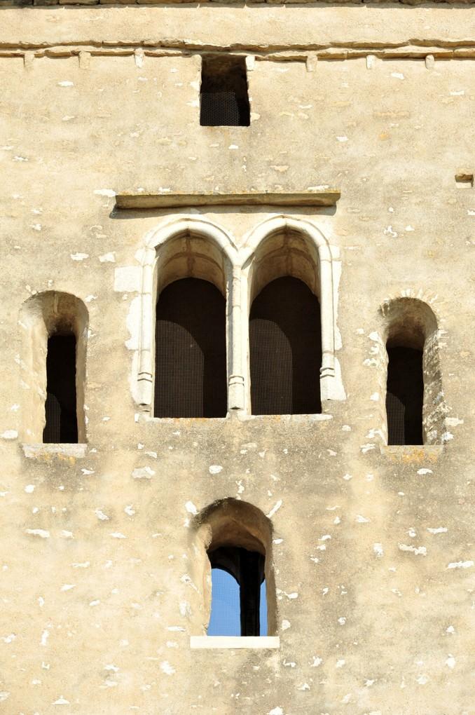 Laives - Eglise Saint-Martin - Baies du clocher