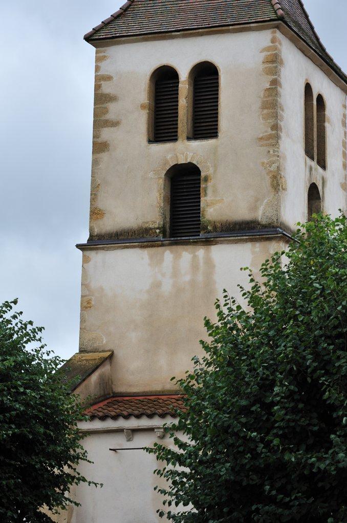 Ligny-en-Brionnais - Eglise Saint-Philippe-et-Saint Jacques - Le clocher