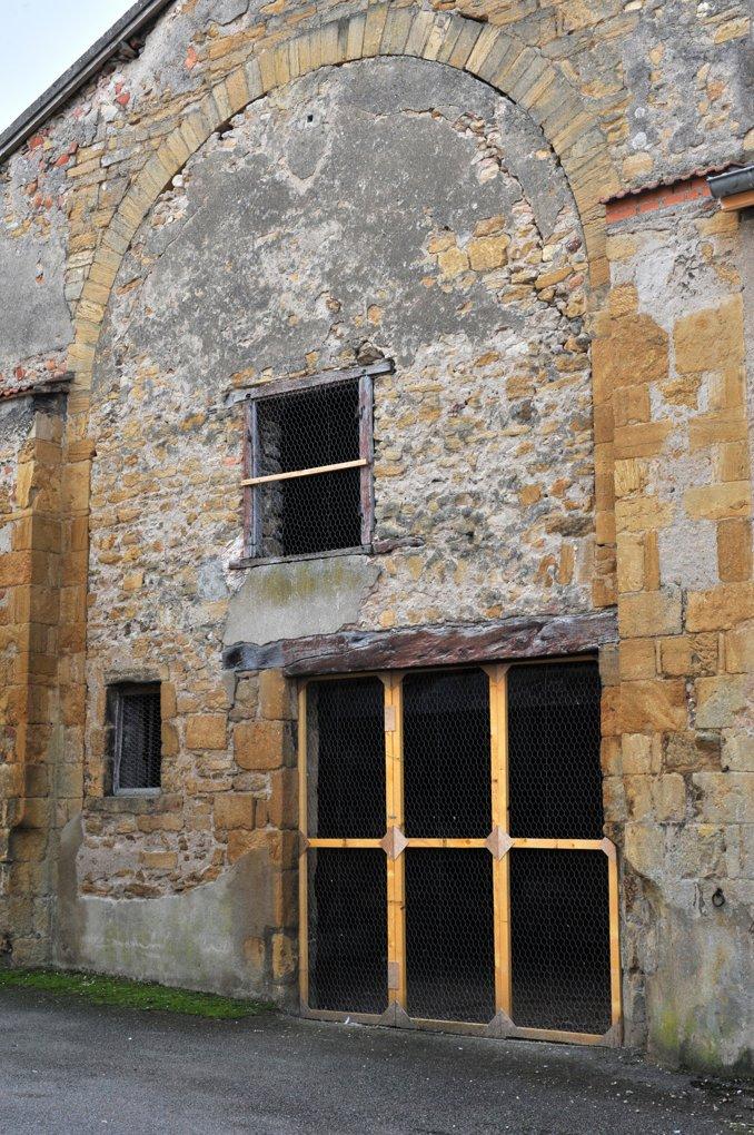 Marcigny - Vestiges de l'ancienne église priorale (XIIe siècle)
