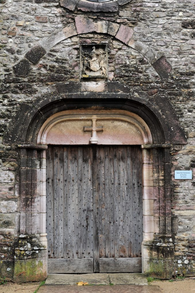Mercurey - Eglise saint-Symphorien - Portail du XVIe siècle
