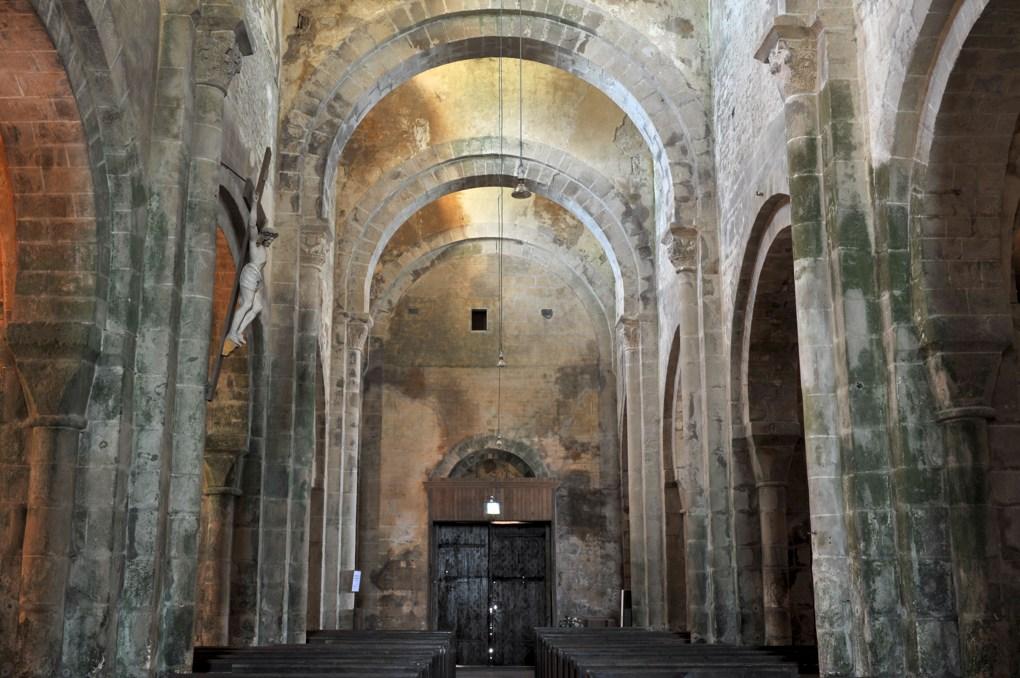 Mont-Saint-Vincent - Eglise Saint-Vincent (XIIe siècle) - La nef
