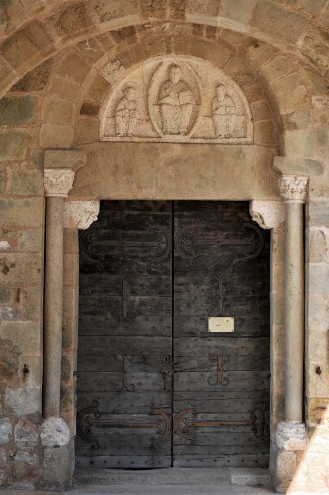 Mont-Saint-Vincent - Eglise Saint-Vincent (XIIe siècle) - Le portail