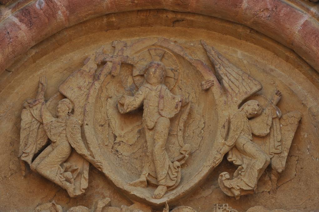 Montceaux-l'Etoile - Eglise Saint-Pierre-et-Saint-Paul - Le Christ en gloire