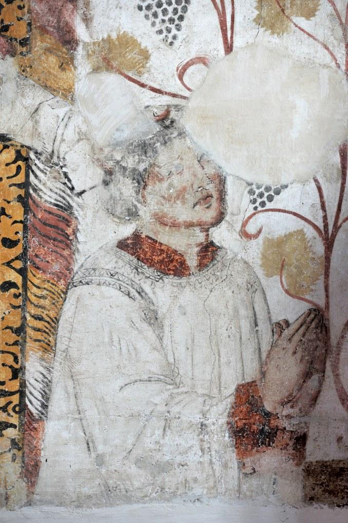 Montceaux-l'Etoile - Eglise Saint-Pierre-et-Saint-Paul - Fresques (XVe siècle)