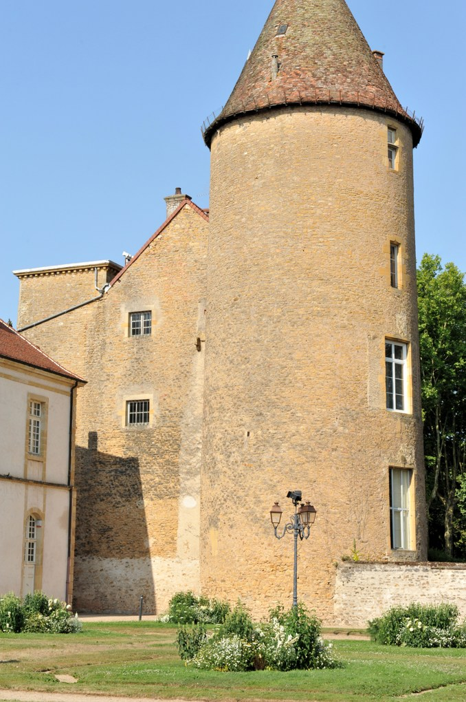 Paray-le-Monial - Ancienne priorale Notre-Dame - Tour du palais abbatial (XVe siècle)